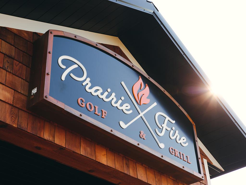 PrairieFire Golf + Grill: A New Brand Catches Fire